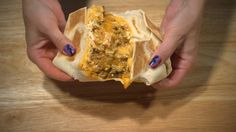 Taco Bell's Cheetos Crunch-Wrap Supreme http://www.zestvip.com/g/fun-recipes-taco-bells-cheetos-crunch-wrap-supreme/3/?ipp=3