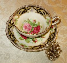 Cup & Saucer by EB Folby