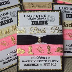 LAST RIDE Bachelorette Party Bridesmaids от TheGizzardTickler