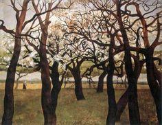 Ota Janeček, Stromy na jaře,1952