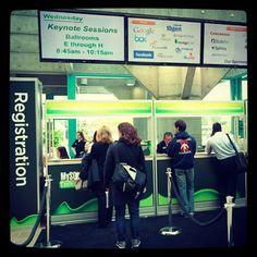 #Percona registration booth