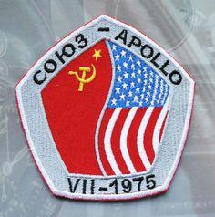Soyuz-Apollo Soviet Space Program Patch