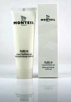 Monteil Paris Pure-N 1.7 oz. 24-Hour Balancing Purifying Creme by Monteil Paris. $21.00. Paraben Free. Appropriate for any skin type. This rich moisturizing 24-hour care ensures a clear and mattified complexion, instantly and lastingly.  It effectively reduces impurities while the pore size is visibly reduced.