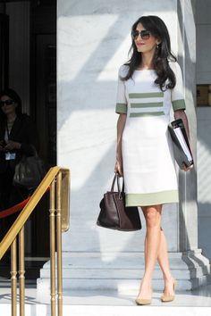 Amal Alamuddin Style - Amal Clooney Fashion - Harper's BAZAAR