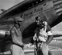 "Tuskegee Airman Ace and Top Gun Lt. Lee ""Buddy"" Archer - Stardust Studios"