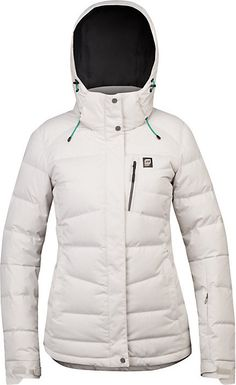 Orage Cascade Down Jacket - Women's: Let the warmth of 500 fill power down pour over you as you plunge down the mountain in Orage's Cascade down jacke Winter Jackets Women, Winter Outfits Women, Coats For Women, Women Lifestyle, Outdoor Outfit, Jackets Online, Outerwear Jackets, Rain Jackets, Ski Outfits
