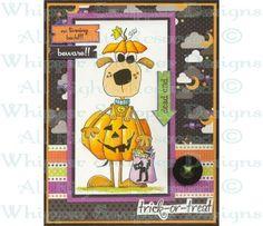 #BBZ265 - Pumpkin Pooch Set #15 - Spooky Expressions