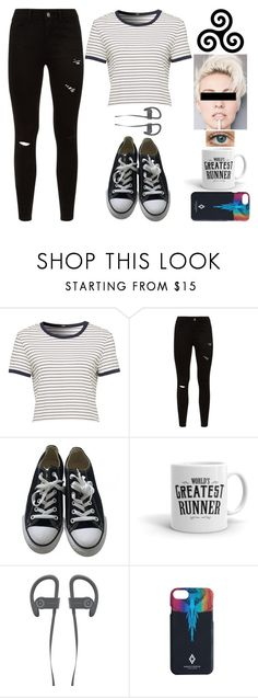 """Teen Wolf Inspired"" by lucy-wolf ❤ liked on Polyvore featuring Converse and Marcelo Burlon"