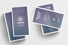 Polon - a Business Card Template @creativework247