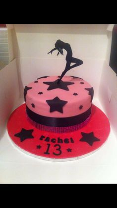 Special 13th cake for a freestyle dancer x