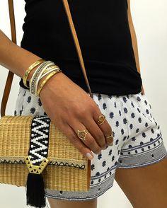Toujours rester chic ! #bracelet #stelladotstyle #festivalstyle #coachella… Acheter : http://www.stelladot.fr/sites/sophieandfashion