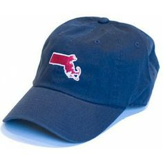 Massachusetts Boston Gameday Hat in Blue by State Traditions