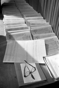 The Frankfurt trial was opened on Dec. 20, 1963. Here, documents relating to...