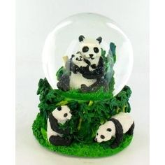 Panda Bear Bamboo Musical Snow Globe Water Ball   Shop   Kaboodle