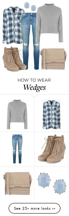 """""""Plaid for Fall"""" by najoli on Polyvore featuring Rails, Rebecca Minkoff, Topshop, Francesco Biasia and Kendra Scott"""