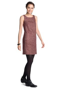 Esprit - sheath dress in stretchy blended wool at our Online Shop