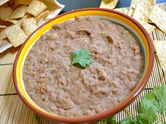 Budget Bytes: (not) refried beans $2.75 recipe / $0.31 serving