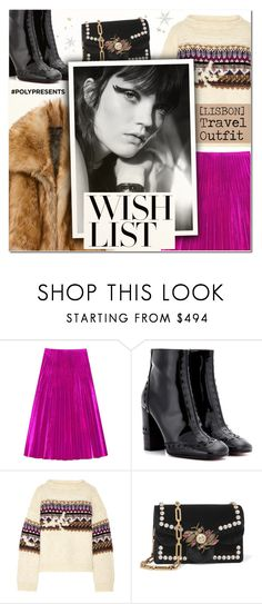 """""""#PolyPresents: Wish List VIII"""" by vampirella24 ❤ liked on Polyvore featuring Gucci, Chloé and Étoile Isabel Marant"""