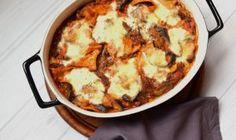 Italiaanse lasagne schotel met maistortilla's (low FODMAP, glutenvrij)