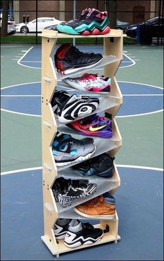 Shoe Rack Store 47 Perfect Shoe Rack Concepts Ideas For Storing Your Shoes furniture Shoe Storage Solutions, Diy Shoe Storage, Shoe Storage Cabinet, Bedroom Storage, Storage Ideas, Storage Cabinets, Diy Rack, Diy Shoe Rack, Shoe Racks