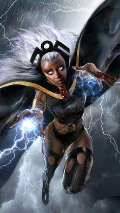 CyberWolf — Marvel Illustrations Created by John Gallagher...