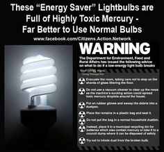 """Think about who benefits monetarily if we all switch to these new """"better"""" bulbs. GE that's who."""