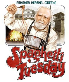 RIP Hershel! Spaghetti Tuesday....On Wednesday!!! TWD The Walking Dead
