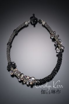 Beautiful Kumihimo Necklace designed by Carolyn Kerr