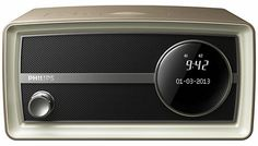 Philips 1960s-style Original DAB clock radio