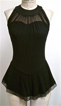 Classic neckline gathers look fabulous on almost every Ballroom dance, Latin dance or figure skating costume. Ice Dance Dresses, Ice Skating Dresses, Dance Outfits, Cool Outfits, Figure Skating Outfits, Figure Skating Costumes, Figure Skating Quotes, Contemporary Dance Costumes, Skate Wear