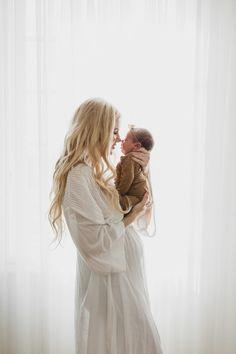 Newborn Photoshoot - Barefoot Blonde by Amber Fillerup Clark