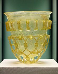 A lovely example of ancient roman glass.