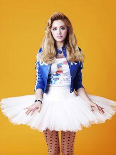Nana - After School - Orange Caramel the skirt eeeeeeeep