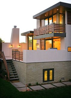 Del Mar Residence - contemporary - Exterior - San Diego - Allard Jansen Architects, Inc.