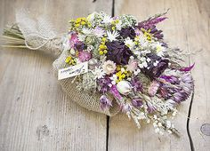 Dry flowers bouquet