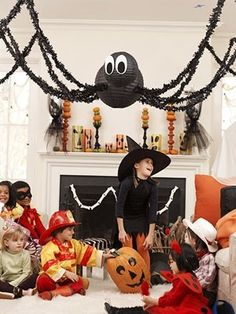 spider decor for cute party
