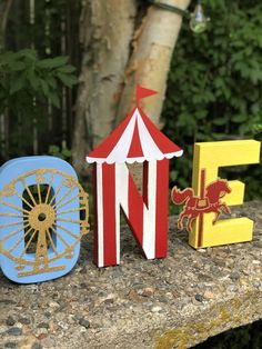 Excited to share this item from my shop: Carnival , circus photo props , table fecor , first birthday decor Dumbo Birthday Party, Circus First Birthday, Circus 1st Birthdays, Boys 1st Birthday Party Ideas, Birthday Party Tables, Birthday Pictures, First Birthdays, Carnival Decorations, Carnival Themes