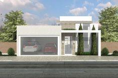 Com uma bela fachada esta casa tem duas vagas na garagem, sala de tv e jantar integradas a cozinha, lavanderia e despensa. Na parte intima da casa, são 3 quartos, sendo o de casal com suíte e closet.