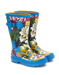 JNR GIRLS WELLY Girls Printed Welly
