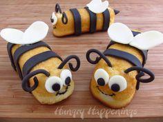 Snack Cake Stingers - Hostess Twinkie Bumble Bee Treats
