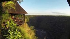Gorges Lodge Breakfast room and bar Victoria Falls, Zimbabwe, Lodges, Morning Coffee, Safari, Tent, Beautiful Places, Cabin, Bar
