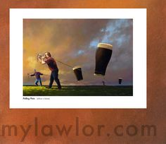 Pulling-pints - Jimmy Lawlor, Brilliant! Make A Person, Pints, Love Pictures, Artsy, Canvas, Artwork, Movie Posters, Painting, House