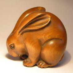 Rabbit Netsuke