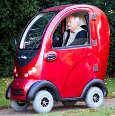 Cabin Electric Mobility Scooter 4 Wheel Full 1400 Watt Motor All Weather