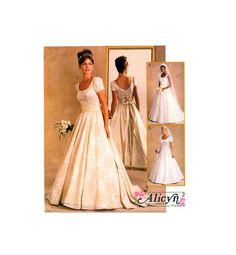 Your place to buy and sell all things handmade Dress Patterns, Sewing Patterns, Gathered Skirt, Fitted Bodice, Bridal Dresses, All Things, Size 10, Train, Weddings