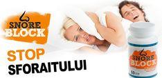 Nu lăsa sforăitul să-ți afecteze calitatea somnului și sănătatea. Încearcă Snore Block și vei scăpa rapid de sforăit și de problemele de respirație... Snoring