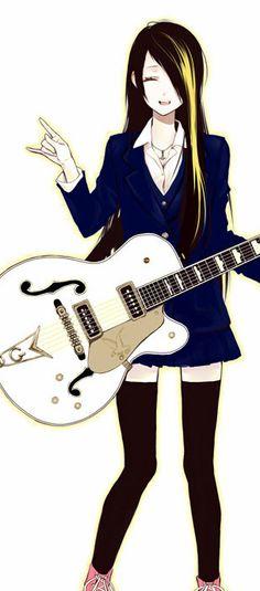 Read Hiromiya. She looks like the cross between the two main characters!