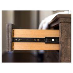 Bailey 9 - Drawer Dresser & Mirror Set - Weathered Oak - Abbyson