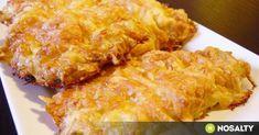 Sajtos sült karaj recept képpel. Hozzávalók és az elkészítés részletes leírása. A sajtos sült karaj elkészítési ideje: 45 perc Pork Recipes, Cooking Recipes, Tasty, Yummy Food, Hungarian Recipes, Hungarian Food, Pork Dishes, Food 52, Macaroni And Cheese
