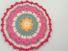 clare's #crochet mandala contribution to #mandalasformarinke and thoughts on gratitude for fighting depression